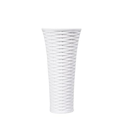 Amazon Dvine Dev 6 Small Pure White Ceramic Vase Cone