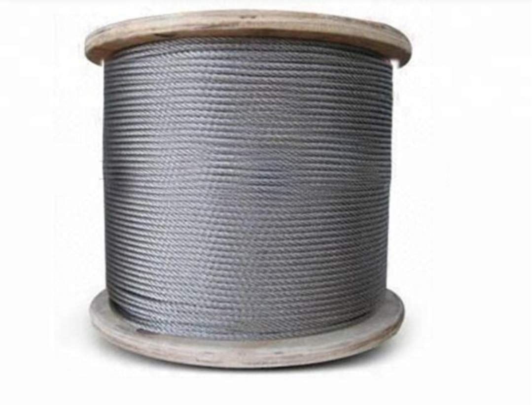 Laureola 3//32 Stainless Steel Aircraft Wire Rope 304 Grade 7x19-100ft
