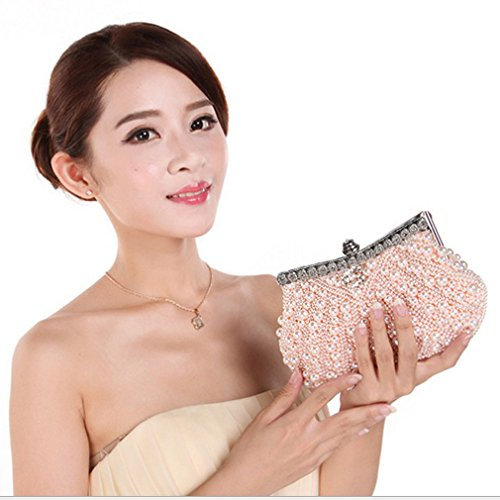 Belsen Champagne Evening Handbags Wedding Beaded Women's wgwqBTF