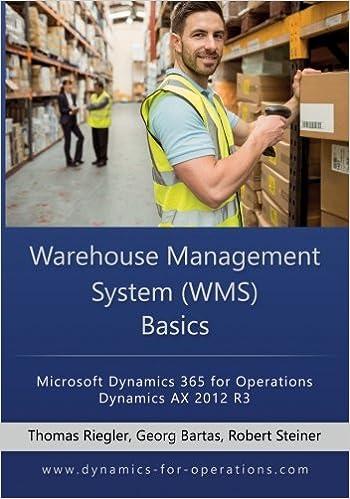 WMS Warehouse Management System Basics: Microsoft Dynamics 365 for