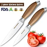 Kitchen Knives 2-piece Set, SANJIANKER 5-inch