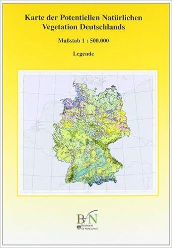 Karte Uk.Karte Der Potentiellen Naturlichen Vegetation Deutschland