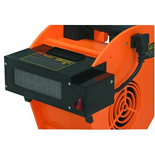 Heater Attachment for Portable Blower by Chicago Electric Power Tools