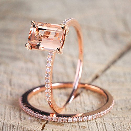 Stacking Matching Personalized Infinity Mothers Ring Engagement Promise Rings for Women by NIKAIRALEY Jewelry (Image #7)