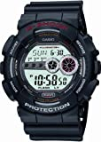 Casio Men's GD100-1ACR G-Shock X-Large Black Multi-Functional Digital Sport Watch, Watch Central