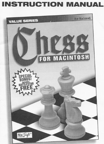 - MacSoft Chess for MacIntosh 3.5 Floppy Disk