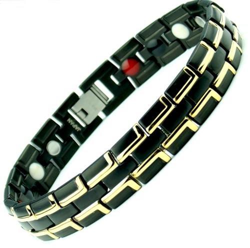 TITANIUM magnétique Sapin énergie Germanium Bracelet Power Balance santé 4 en 1 Bio 074