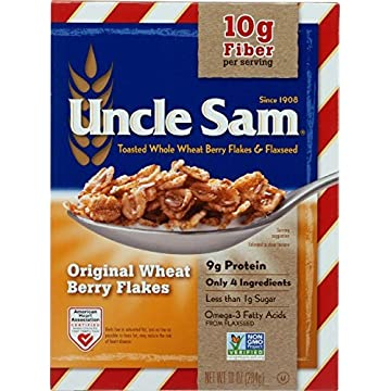 Uncle Sam Toasted Whole Wheat Berry Flakes & Flaxseed Original Cereal