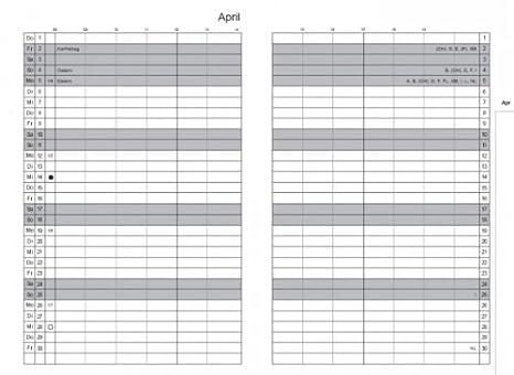 Calendario Iva 2020.X17 Organizer Di A6 Mese Calendario 2018 2020 Amazon It