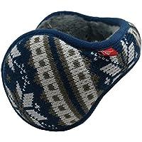 Mraw- Adjustable Winter Earmuff- Back Worn Ear Warmer- Snowflake Pattern- Foldable for Pockets   Bags-For Skiing   Skating   Climbing   Running- 1 Pcs