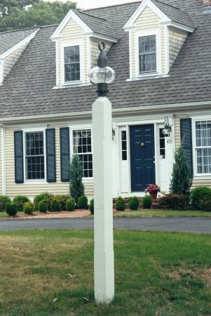 New England Woodworks SLP Square Lantern Post