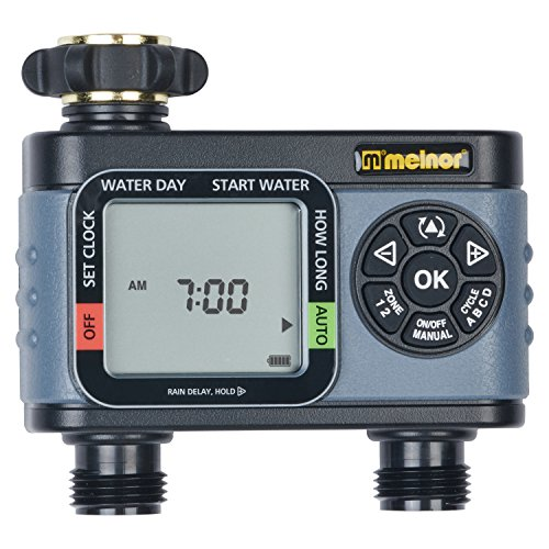 (Melnor HydroLogic 2-Zone Digital Water Timer)