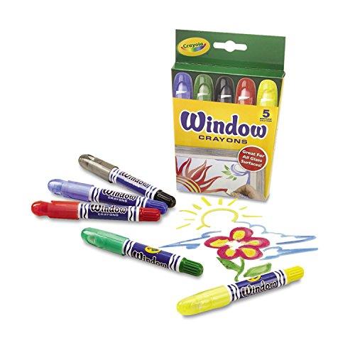Crayola Window Crayons-5/Pkg