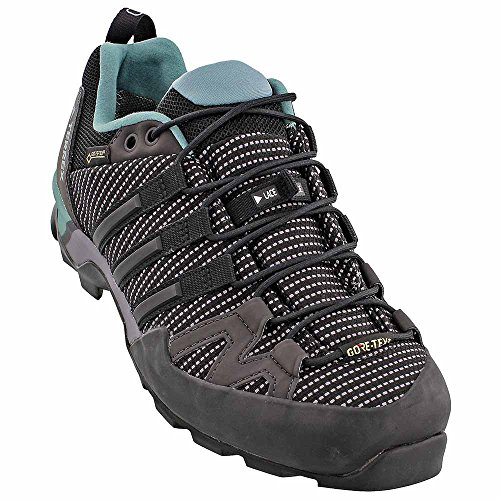 Scarpa Sportiva Adidas Per Esterno Terrex Gtx Trace Grigio / Nero / Acciaio Al Vapore