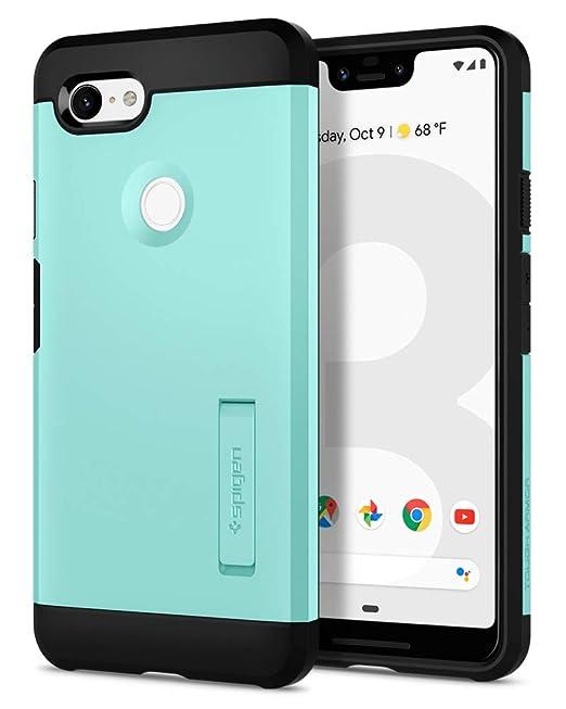 Spigen - Carcasa rígida diseñada para Google Pixel 3 XL ...