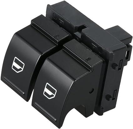 Kkmoon Kfz Electric Fenster Schalter Button Treiber Seite Beifahrerseite Fensterheber Schalter Auto