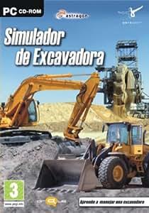 Simulador de conductor de Excavadora, en Español