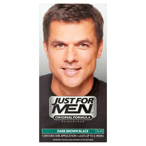 Amazon.com : Just for Men Hair Colourant Natural Dark Brown / Black ...