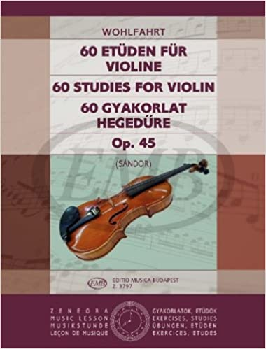 Emb Editio Musica Budapest Wohlfahrt F Studi 60 Op