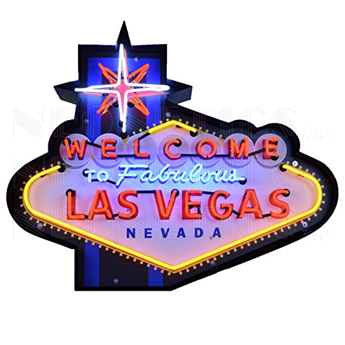 Neonetics Welcome to Fabulous Las Vegas Sign
