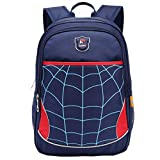 MIFULGOO Kids Waterproof Backpack for Elementary or Middle School Boys and Girls (RoyalBlue with Reflector)