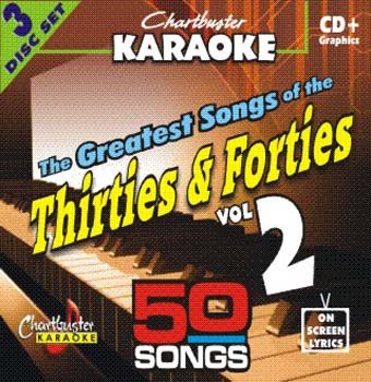 Chartbuster Karaoke CDG CB5039 The Greatest Songs of the