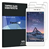 DOOGEE X10 Screen Protector, TopACE Premium Quality Tempered Glass 0.3mm Film for DOOGEE X10 (2 Pack)