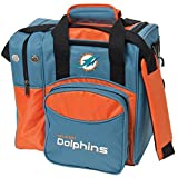 Cheap KR Strikeforce Miami Dolphins Single Bowling Bag, Multicolor
