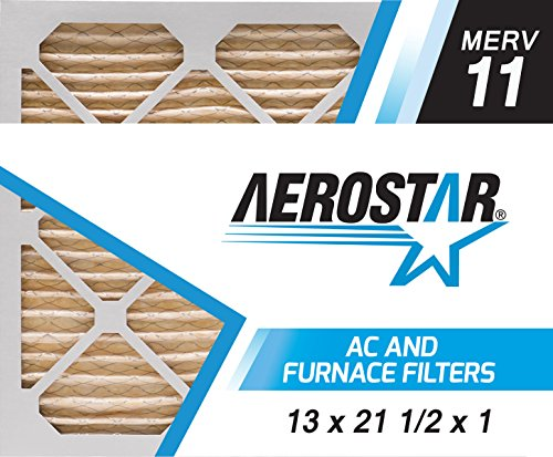 13x21 1/2x1 Carrier Replacement Filter by Aerostar - MERV 11, Box of 6
