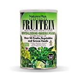 Cheap Natures Plus Fruitein Revitalizing Green Foods Shake – Tropical Fruit Flavor – 1.3 lbs, Vegetarian Protein Powder – Plant Based Meal Replacement – Gluten Free – 16 Servings
