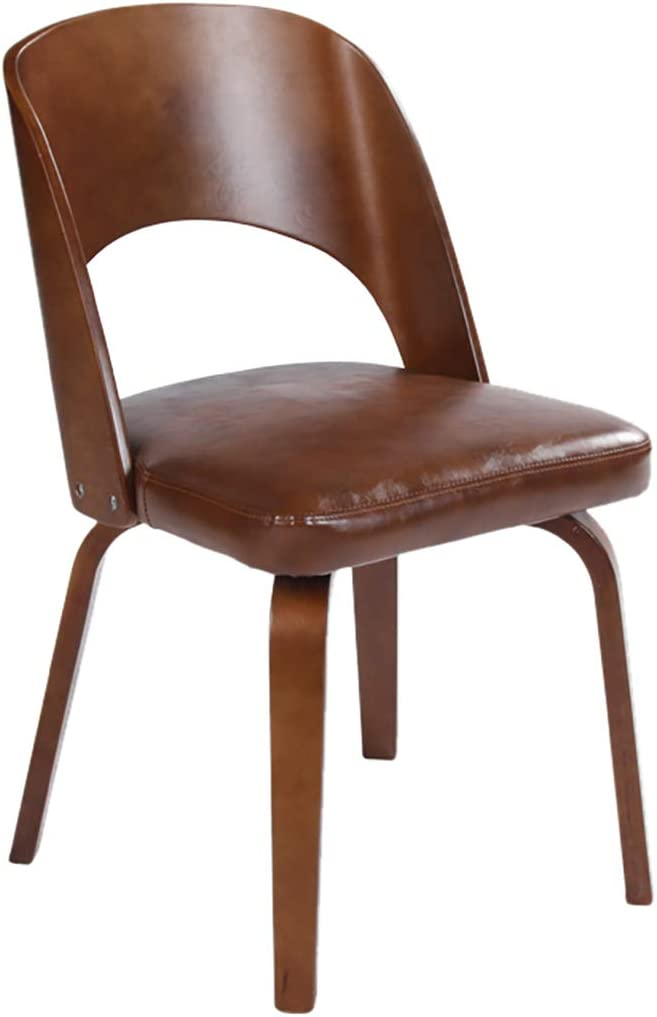 Modern Minimalist Dining Chair for Restaurant//Office//Counter//Family Curved Wood Lamination Technology Stable Structure Lounge Chair