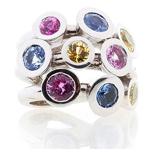 TUTTI FRUTTI - Pendentif Saphir - Or 18 carat - www.diamants-perles.com