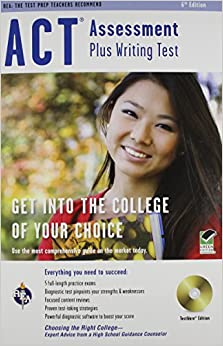 ACT Assessment plus Writing Test w/CD-ROM 6th Ed. (SAT PSAT ACT (College Admission) Prep)