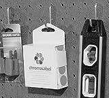 ChromaLabel 3/4 Inch Round Permanent Color-Code Dot Stickers, 1000 per Dispenser Box, Purple
