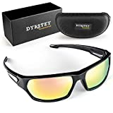 DYRSTEY Polarized Sports Sunglasses for Men Women Running, Driving, Fishing, Golf, Baseball Sun Glasses, TR90 Unbreakable Frame