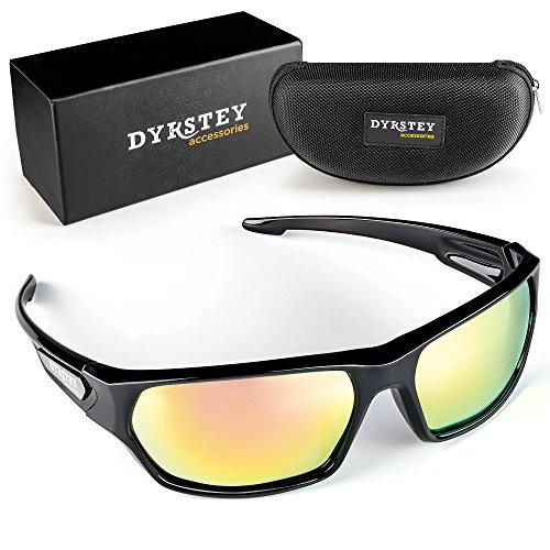 799e4d7c18 DYRSTEY Polarized Sports Sunglasses for Men Women Running