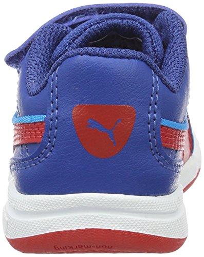 Puma Stepfleex Fs Sl V Inf, Zapatillas Unisex Niños Azul (True Blue-high Risk Red 20)