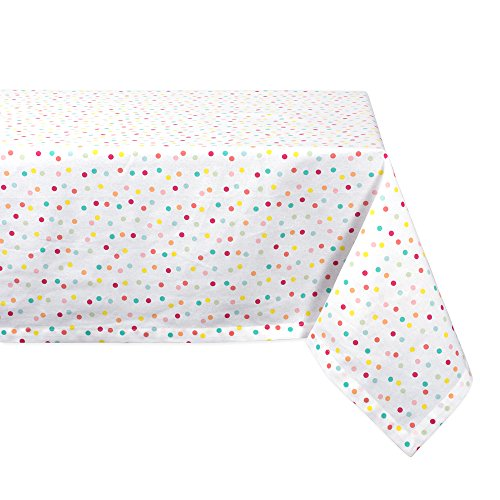 DII Cotton Tablecloth for for Dinner Parties, Weddings & Everyday Use, 60x104