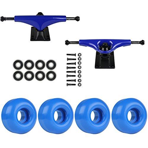 TGM Skateboards Skateboard Package Havoc Blue 5.0 Trucks 53mm Royal Blue ABEC 7 Bearings