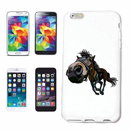 caja del teléfono iPhone 7+ Plus CABALLO DE LA VENDIMIA EQUITACIÓN concurso ecuestre Jinete del caballo del Dressage CABEZA DEL VAQUERO riding rodeo salto del caballo Semental del potro Caso duro de