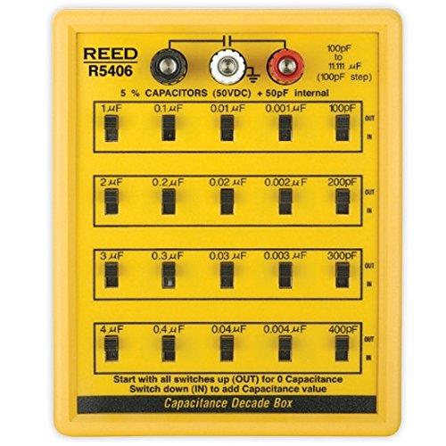 Reed R5406, Capacitance Decade Box ()