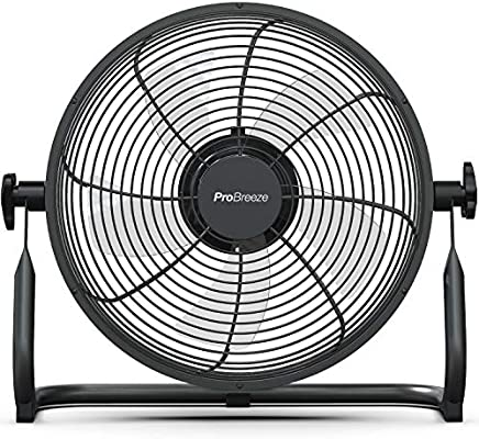 Pro Breeze Ventilador de Piso Recargable de 30cm: Duración de la ...