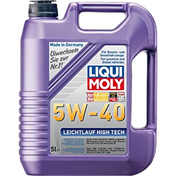 Liqui Moly (2332 5W-40 Leichtlauf High Tech High Ash Synthetic Engine Oil -
