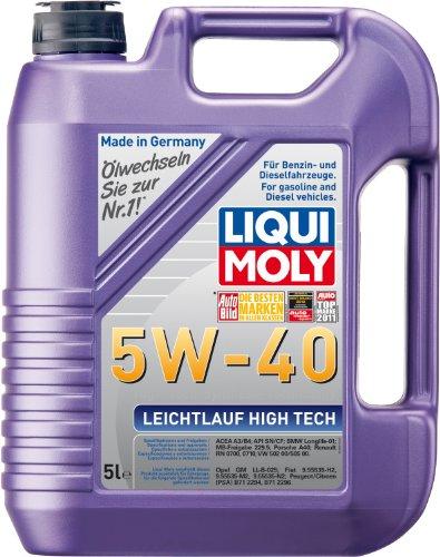 Liqui Moly 3864 Leichtlauf High Tech Motoröl 5 W-40 5 Liter