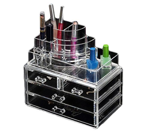 Freely Makeup Organizer Diamond Pattern to Create Your Own S