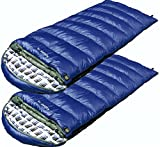 High Peak USA Kodiak  -15  Sleeping bag ( Set of 2 ) Over Size, Blue For Sale