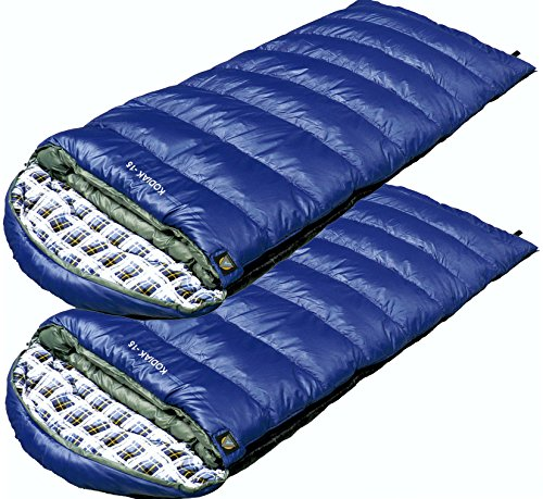 High Peak USA Kodiak  -15  Sleeping bag ( Set of (Core Rectangular Sleeping Bag)
