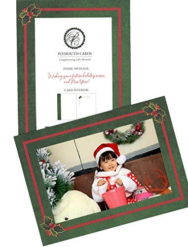 Holly Holiday Card