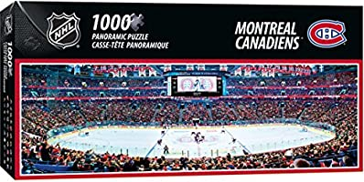 Masterpiece NHL Montreal Canadiens Arena Puzzle, 1000-Piece, Small, Gray