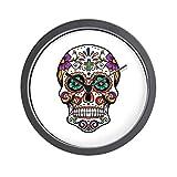 CafePress – Sugar Skull – Unique Decorative 10″ Wall Clock